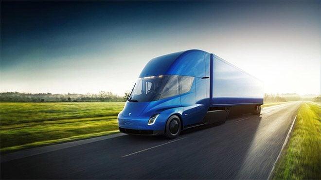 Elektrikli kamyon Tesla Semi için gelen yeni test videosu [İzle]